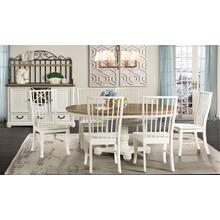 Bristol Bay Dining Set - Table and 6 Side Chairs