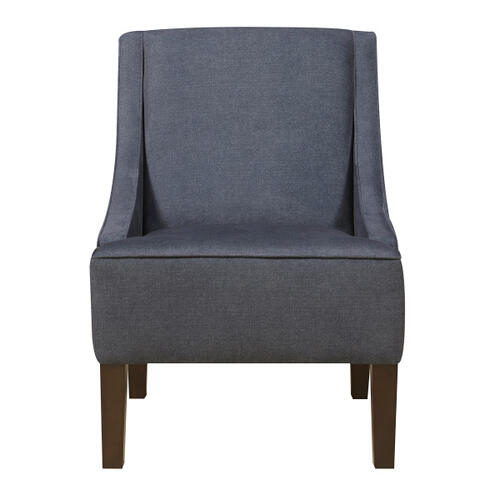 Accent Chair Darkwash Denim