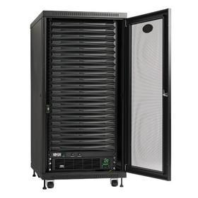 EdgeReady Micro Data Center - 21U, 3 kVA UPS, Network Management and PDU, 120V Kit