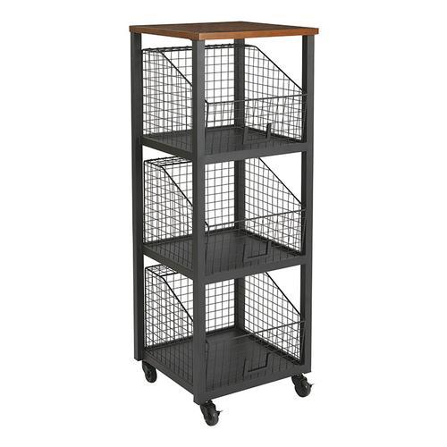 Hanover 3/drawer Storage Console