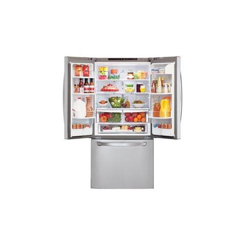 LG - 22 cu. ft. French Door Refrigerator