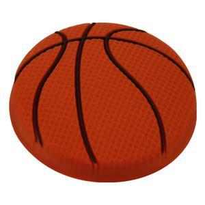 Kids Orange Basketball Cabinet Knob Product Image