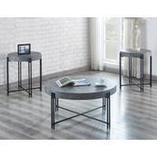 Morgan 3-Piece Set (Cocktail Table & 2 End Tables)
