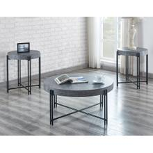 Morgan 3-Piece Set (Cocktail Table & 2 End Tables)