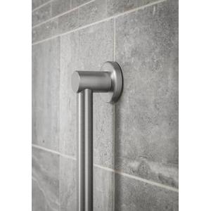"Align brushed nickel 24"" towel bar"