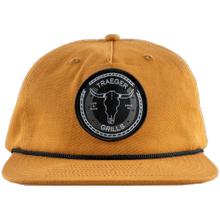 See Details - Traeger Longhorn 7 Panel Flat Brim Hat