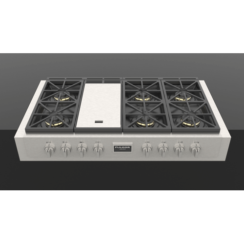 "48"" Pro Gas Range Top - Stainless Steel"