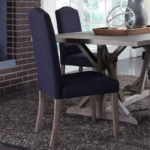 Upholstered Side Chair - Charcoal (RTA)