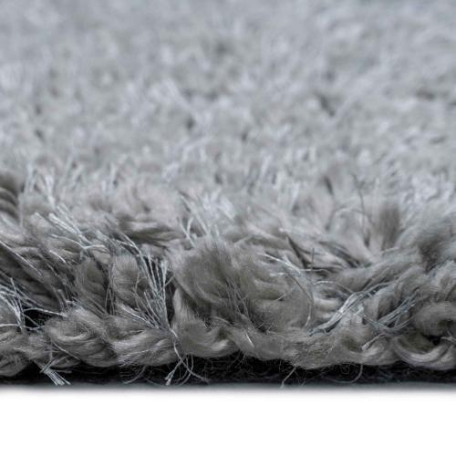 Felicity Shag Silver - Rectangle - 5' x 8'