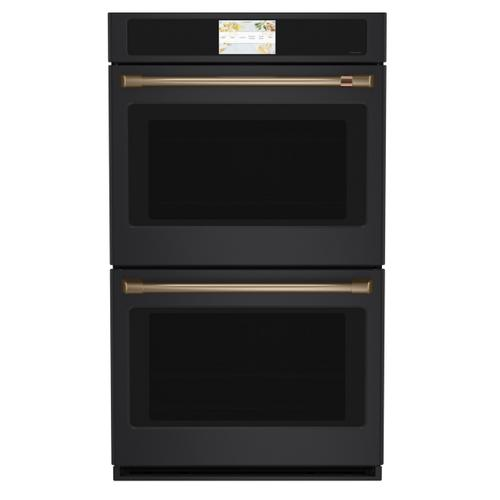 """Cafe - Café™ 2 - 30"""" Double Wall Oven Handles - Brushed Bronze"""