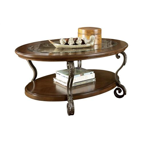 Signature Design By Ashley - T517-0  Oval Cocktail Table