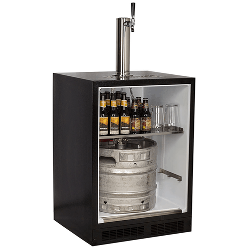 Marvel - 24-In Built-In Dispenser For Beer, Wine And Draft Beverages with Door Style - Stainless Steel