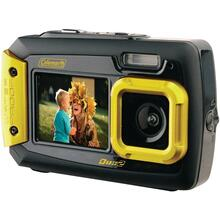 20.0-Megapixel Duo2 Dual-Screen Waterproof Digital Camera (Yellow)