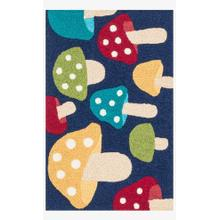 View Product - Han24 Navy / Multi Rug