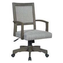 See Details - Deluxe Cane Back Banker's Chair