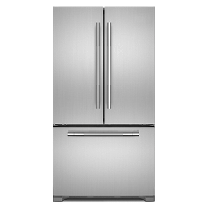 "Jenn-AirRISE 36"" French Door Freestanding Refrigerator"