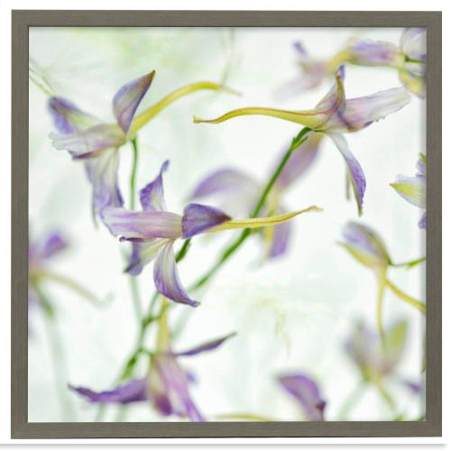 Style Craft - Gentle Dance II  Made in USA  Artist Print  Faux Wood Frame Under Glass  Attached Hanging Hardwa