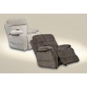 Power Headrest Power Rocker Recliner w/CR3 Heat/Msg/Lumbar