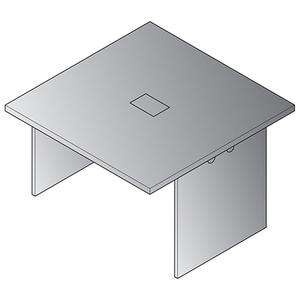"""Expandable 48""""x48"""" Table Component"""