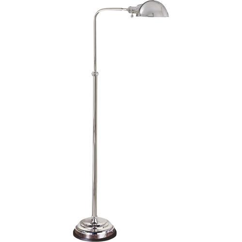 Visual Comfort CHA9161PN E. F. Chapman Apothecary 40 inch 60 watt Polished Nickel Task Floor Lamp Portable Light
