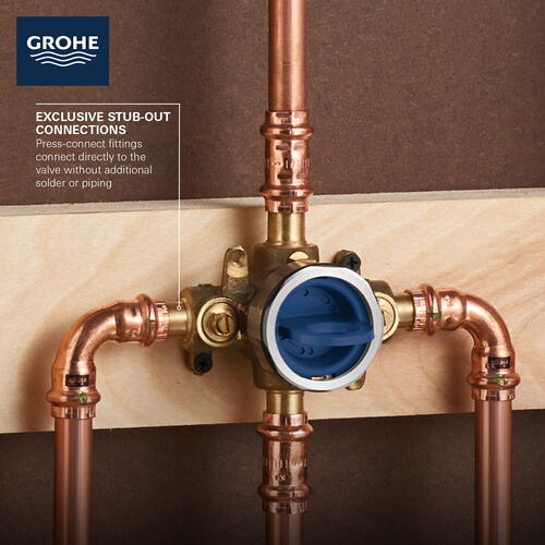 Grohsafe 3.0 Pressure Balance Rough-in Valve