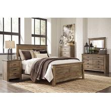 View Product - King Panel Bed With Dresser, Chest and 2 Nightstands