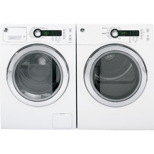 GE 2.6 cu. ft. Energy Star Compact Washer White WCVH4800KWW