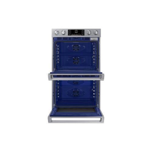 Samsung Canada - NV51K7770DS Convection Double Oven with Steam Bake and Flex Duo, 10.2 cu.ft