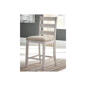 Skempton Upholstered Barstool Two-tone