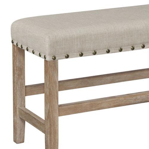 Standard Furniture - Auburn Honey Counter Height Bench