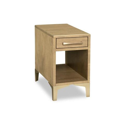 Handstone - Laguna Chairside Table with Drawer