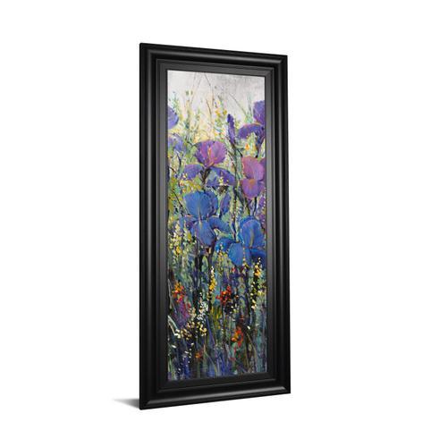 """""""Iris Field Il"""" By Tim Otoole Framed Print Wall Art"""