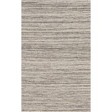 "Radici Naturale 22 Gray/Silver Rectangle 5'0""X8'0"""