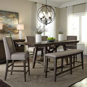 Liberty Furniture Industries - Opt 6 Piece Gathering Table Set