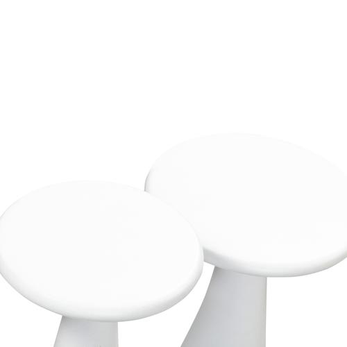 Tov Furniture - Gianna Concrete Accent Tables - Set of 2