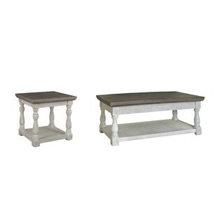 See Details - Outdoor Coffee Table With End Table