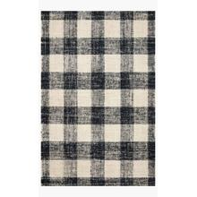 CRE-02 MH Black / Natural Rug
