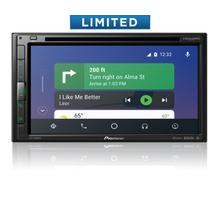 "6.8"" - Amazon Alexa, Apple CarPlay , Android Auto , Bluetooth®, and SiriusXM-Ready - Multimedia DVD Receiver"
