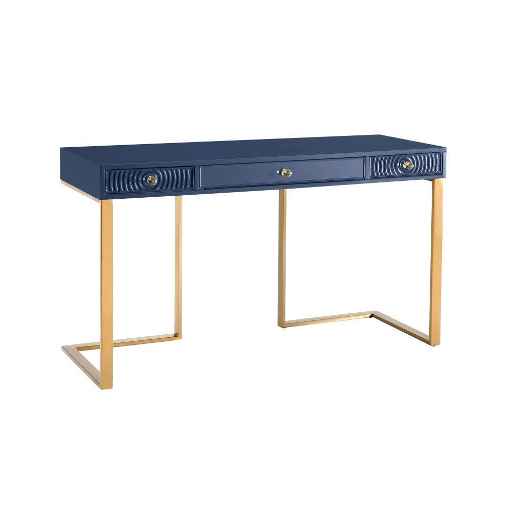See Details - Janie Blue Lacquer Desk