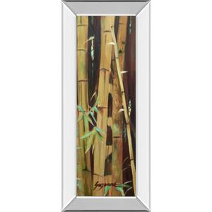 """Bamboo Finale Il"" By Suzanne Wilkins Mirror Framed Print Wall Art"