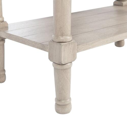 Safavieh - Primrose 3 Drawer Console Table - Greige
