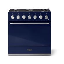 "See Details - Aga Mercury 36"" Dual Fuel Model, Blueberry"