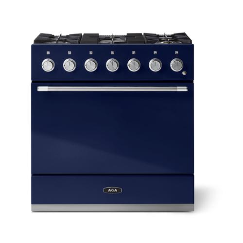 "AGA - Aga Mercury 36"" Dual Fuel Model, Blueberry"