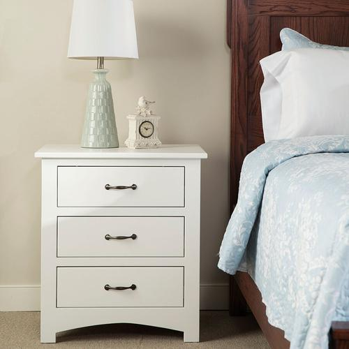 Country Classic Collection - Amish Made Mission 3-Drawer Nightstand
