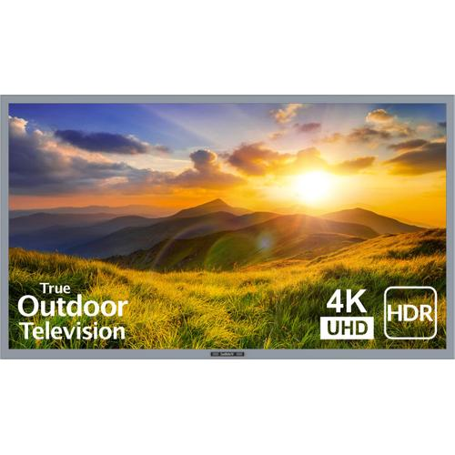 """55"""" Signature 2 Outdoor LED HDR 4K TV - Partial Sun - SB-S2-55-4K - Silver"""