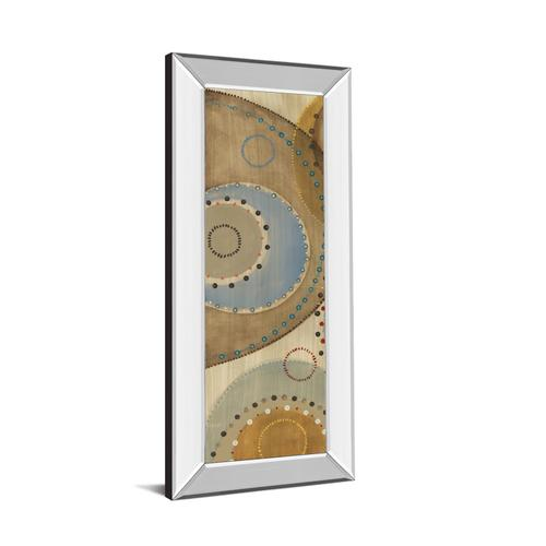 """Moving Moments Panel Il"" By Lee Mirror Framed Print Wall Art"