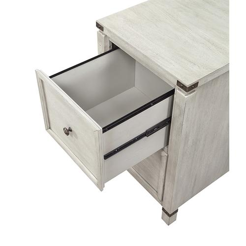 Office Star - Baton Rouge 2 Drawer File Cabinet In Champagn Oak Finish