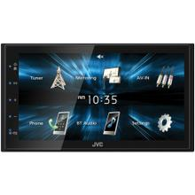 KW-M150BT 6.8-Inch Double-DIN In-Dash WVGA Digital Media Receiver with Bluetooth® and USB Mirroring for Android