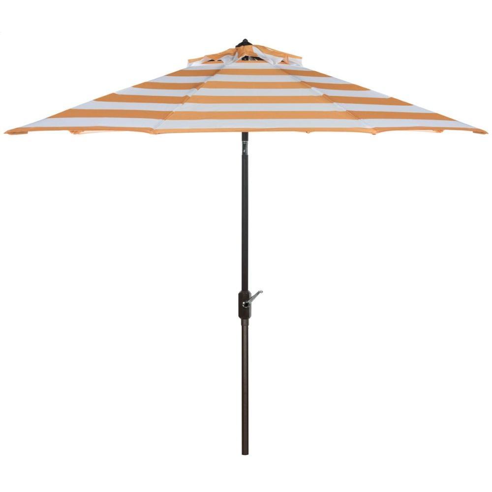 Iris Fashion Line 9ft Umbrella - Orange / White