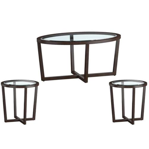 Gallery - 70055 Butler Umber Cocktail and End Table Set